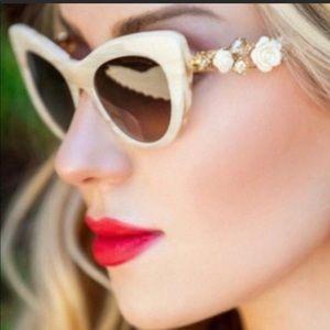 NIB Dolce & Gabbana Cat Eye Sunglasses